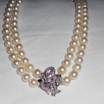 Precious pearl jewelry